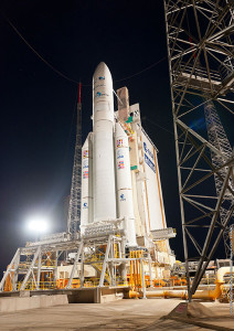Flight VA220 was the 76th launch for Arianespace's Ariane 5, which operates from the Spaceport in French Guiana.