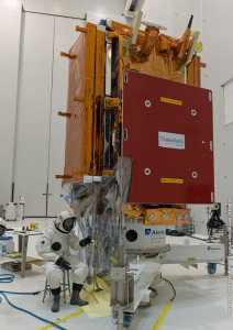 Sentinel-1A was fueled in the S5 payload preparation center.