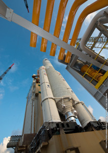 Arianespace's Flight VA219 uses the Ariane 5 ES version of this heavy-lift workhorse, which will ascend from the ELA-3 launch complex at Europe's Spaceport.
