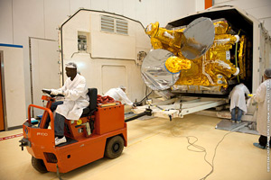 Based on Thales Alenia Space's 4000 platform, W3B will provide a wide range of relay services.