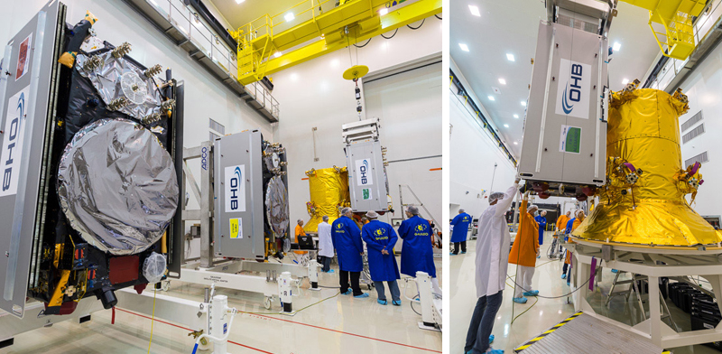 Fit-check process with Galileo satellites